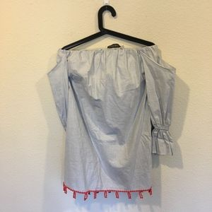 Like new TBSP Los Angeles off the shoulder dress